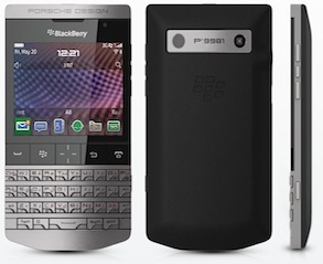 Blackberry and Porsche announce the Blackberry P'9981 in Dubai!