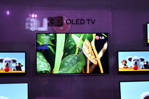 LG 55-inch 3D OLED TV