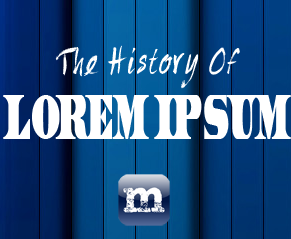 What is Lorem Ipsum?