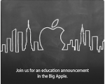 Apple invites the media for an &#8216;education announcement&#8217; next week in New York!