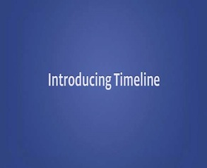 Facebook's timeline is on the way to a profile near you!