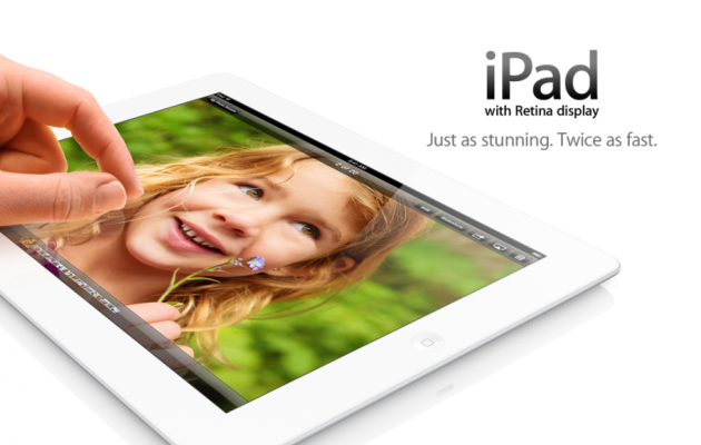 Apple announces fourth-generation iPad
