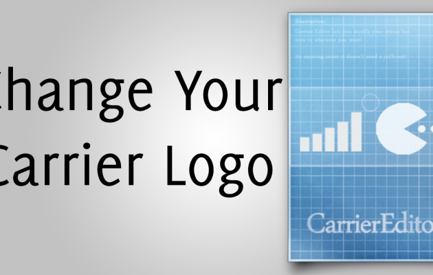 Change Your Carrier Logo Without a Jailbreak in iOS