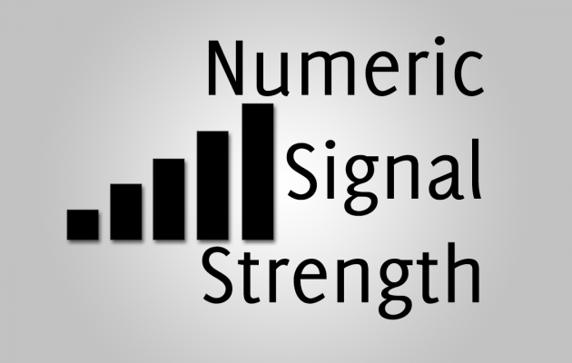 How To Enable Numeric Signal Strength in iOS