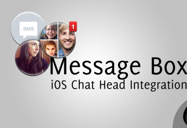 Message Box &#8211; Integrate Facebook Chat Heads into iOS