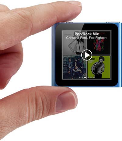 Updated iPod Nano