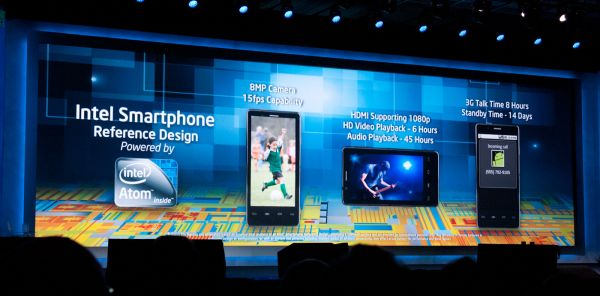 Lenovo's Intel Powered Smartphone