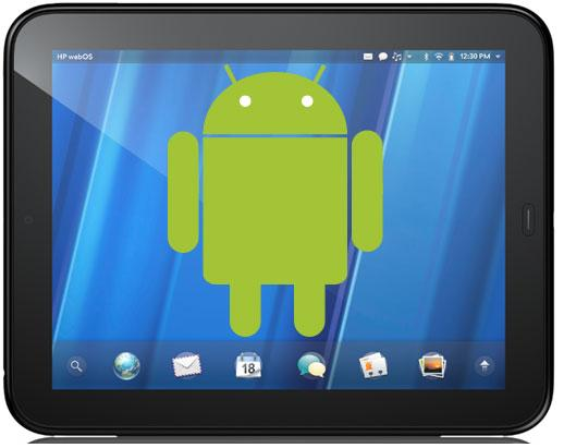 HP Touchpad CM9 Alpha 2 Released