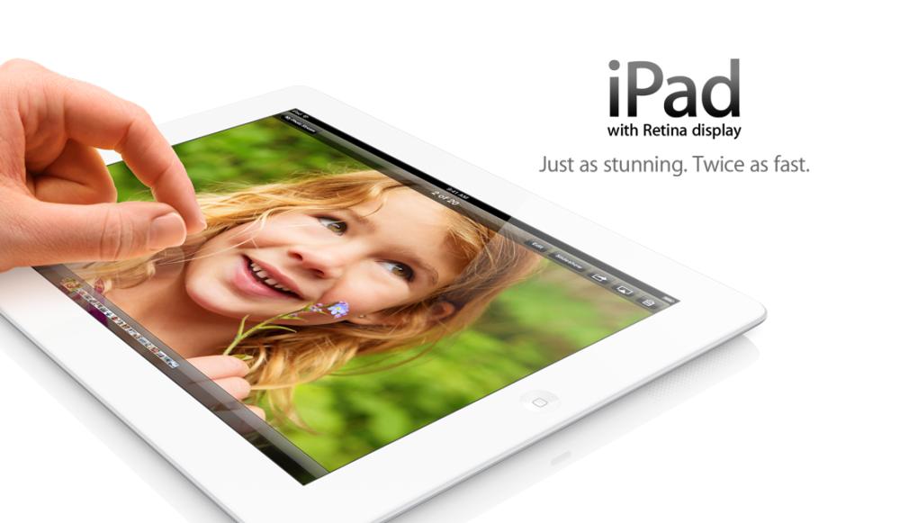Apple announces fourth-generation iPad