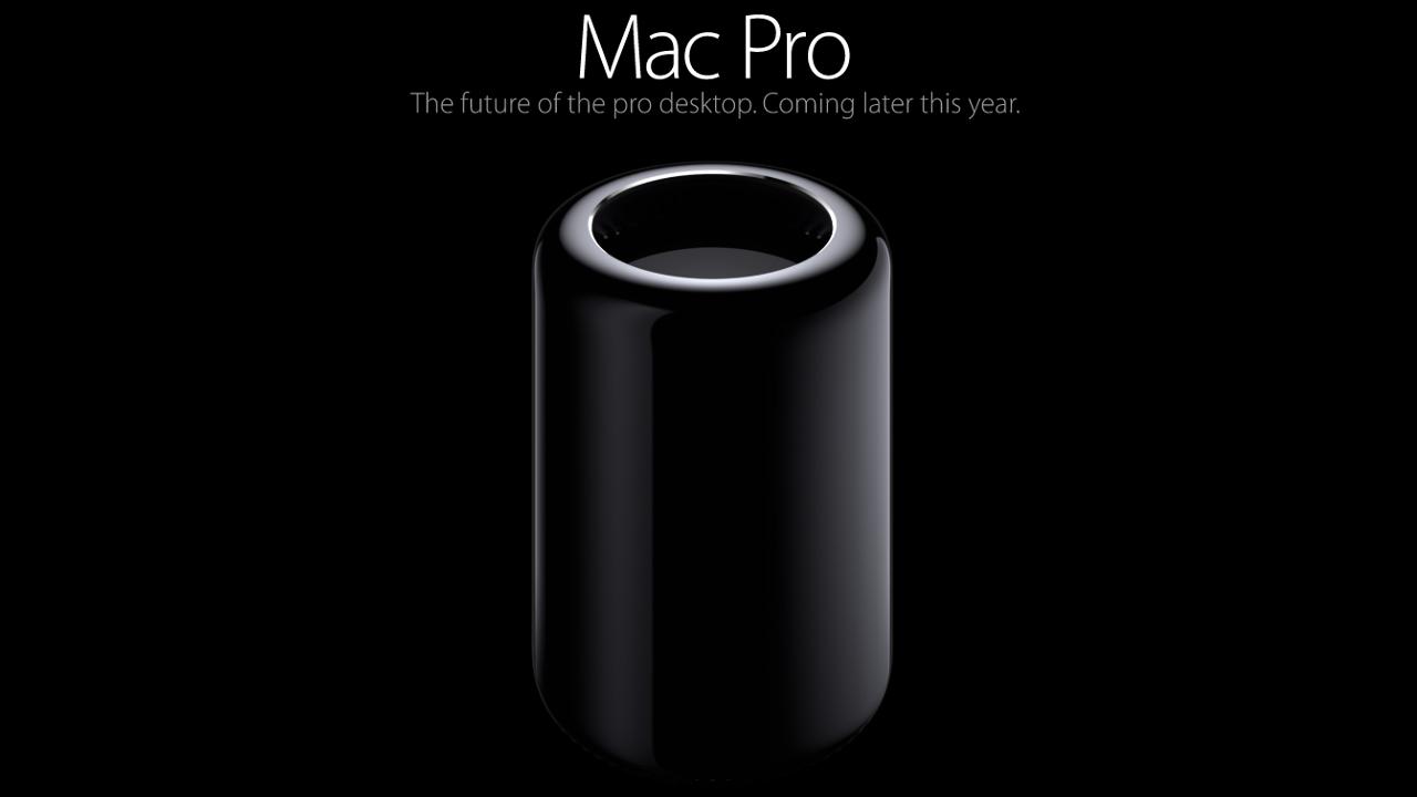 The New 2013 Mac Pro